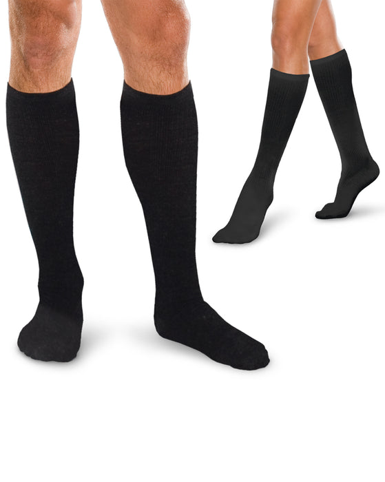 Therafirm Core-Spun Support Socks for Men & Women 30-40mmHg