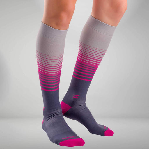 Zensah Classic Stripes Compression Socks - 5002