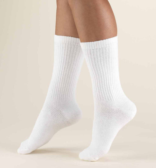 Second Skin Men's 15-20 mmHg Crew Length Athletic Socks