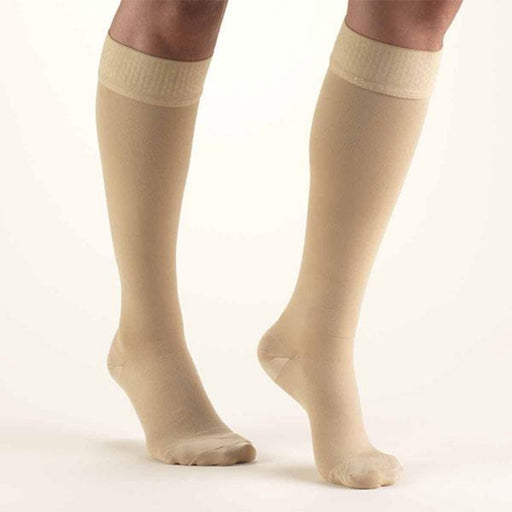 SECOND SKIN Surgical Grade Closed Toe 30-40 mmHg Knee High Support Stockings
