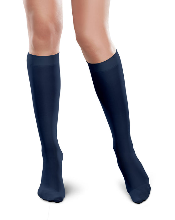Therafirm Ease Microfiber Closed Toe Knee High 20-30 mmHg
