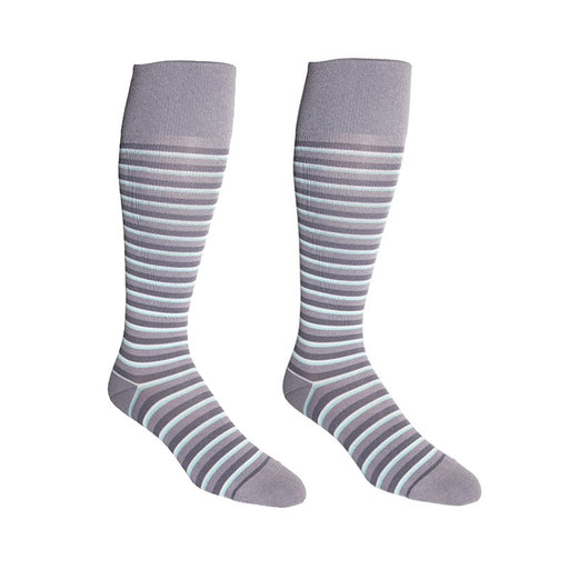 Rejuvahealth Stripe 15-20mmHg Compression Knee Highs