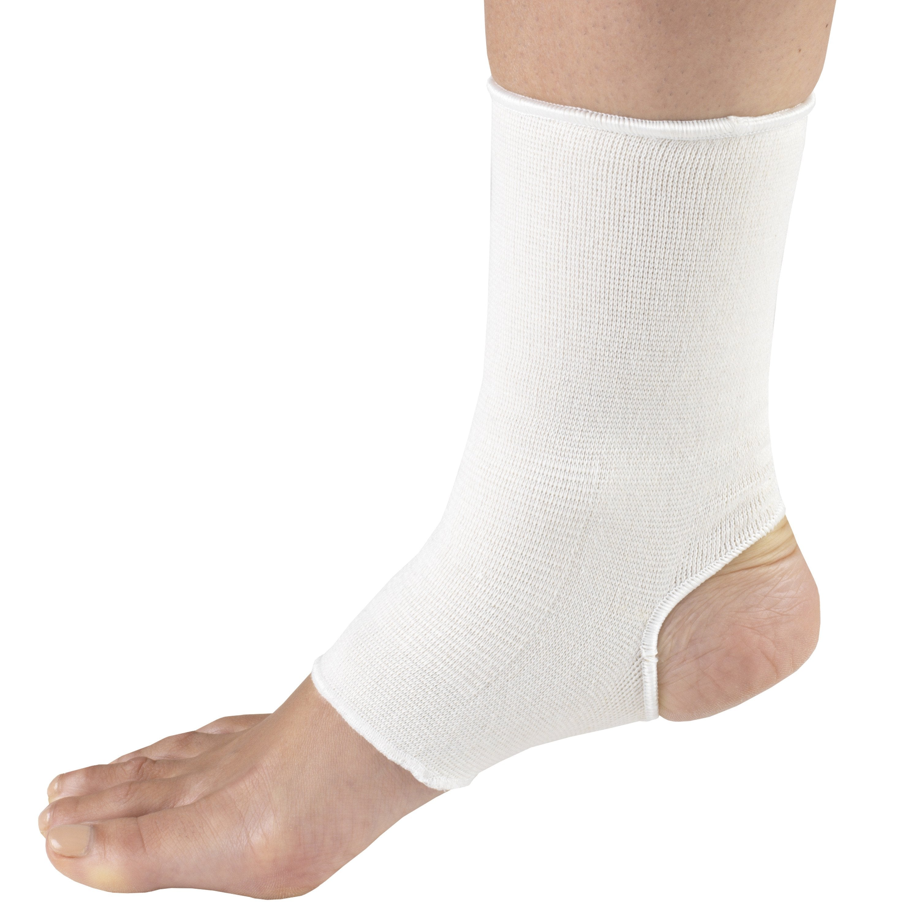 OTC ANKLE SUPPORT PULLOVER  - 2417 - White / XL