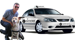 Vision Australia Endorsement of Tactile Taxi Signs
