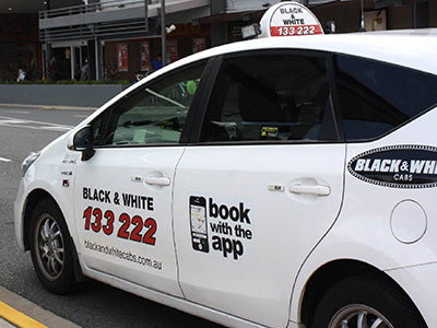Black and White Cabs