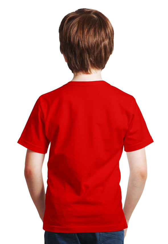 Hawk Design Boy's Tshirt - Red