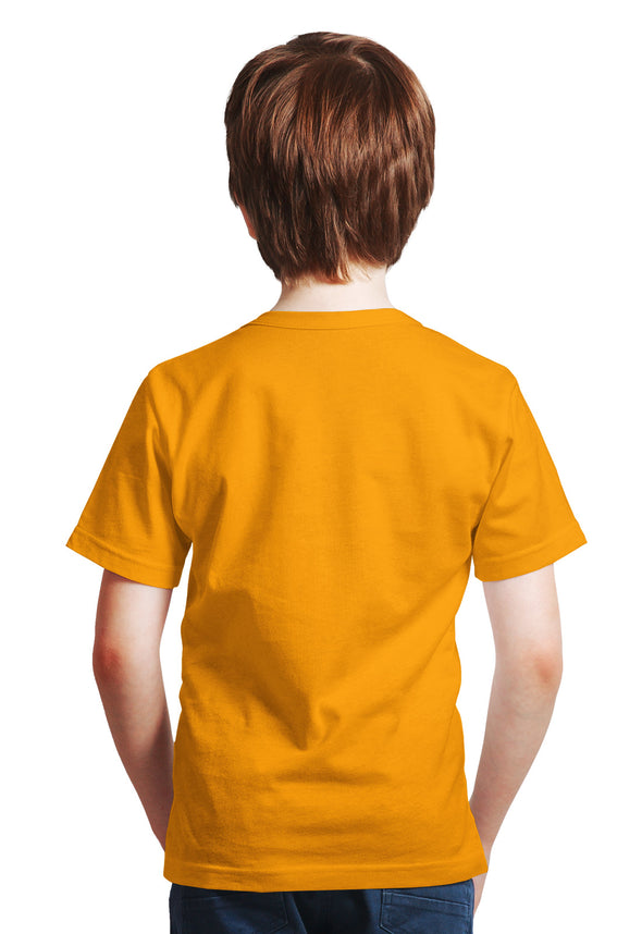 Hawk Design Boy's Tshirt - Yellow