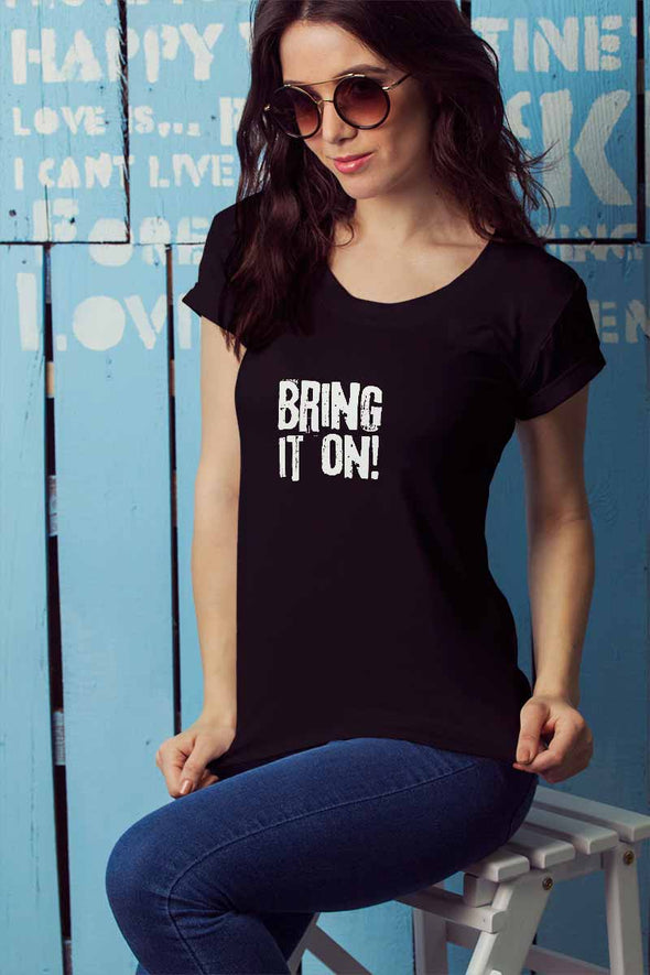 Bring It On Women's Tshirt - Black