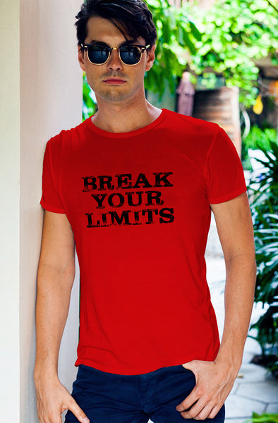 Break Your Limits Men's Tshirt - Red