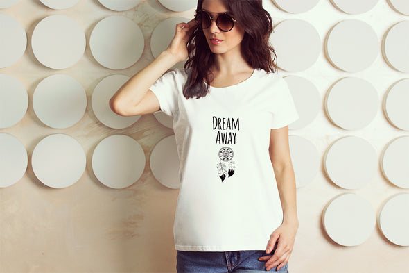 Dream Away Women's Tshirt - White