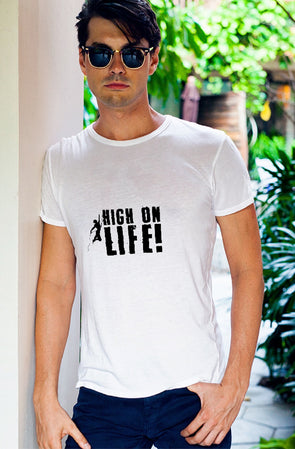 High On Life Men's Tshirt - White