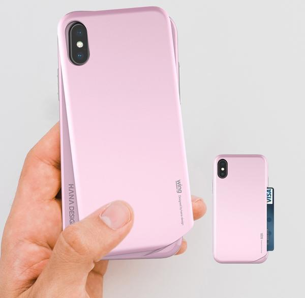 Coque intelligente à double fond tournant pour iPhone