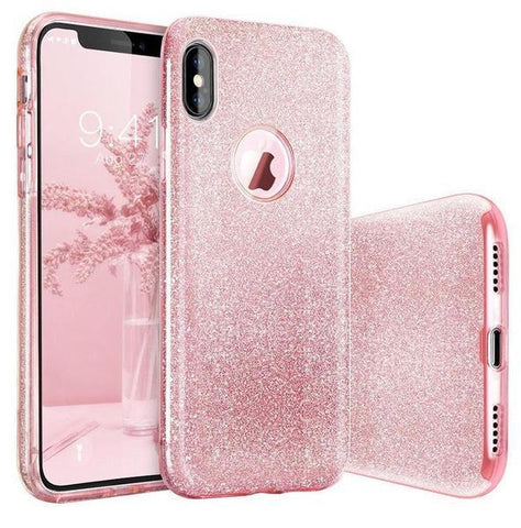 coque paillettes iphone x