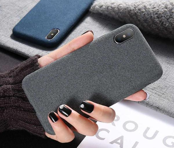 Coque « Luxury Cloth » pour iPhone