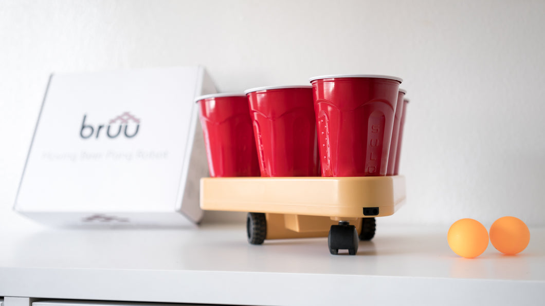 Bruu® Moving Beer Pong Robot