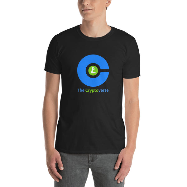 The Cryptoverse Litecoin Short-Sleeve Unisex T-Shirt