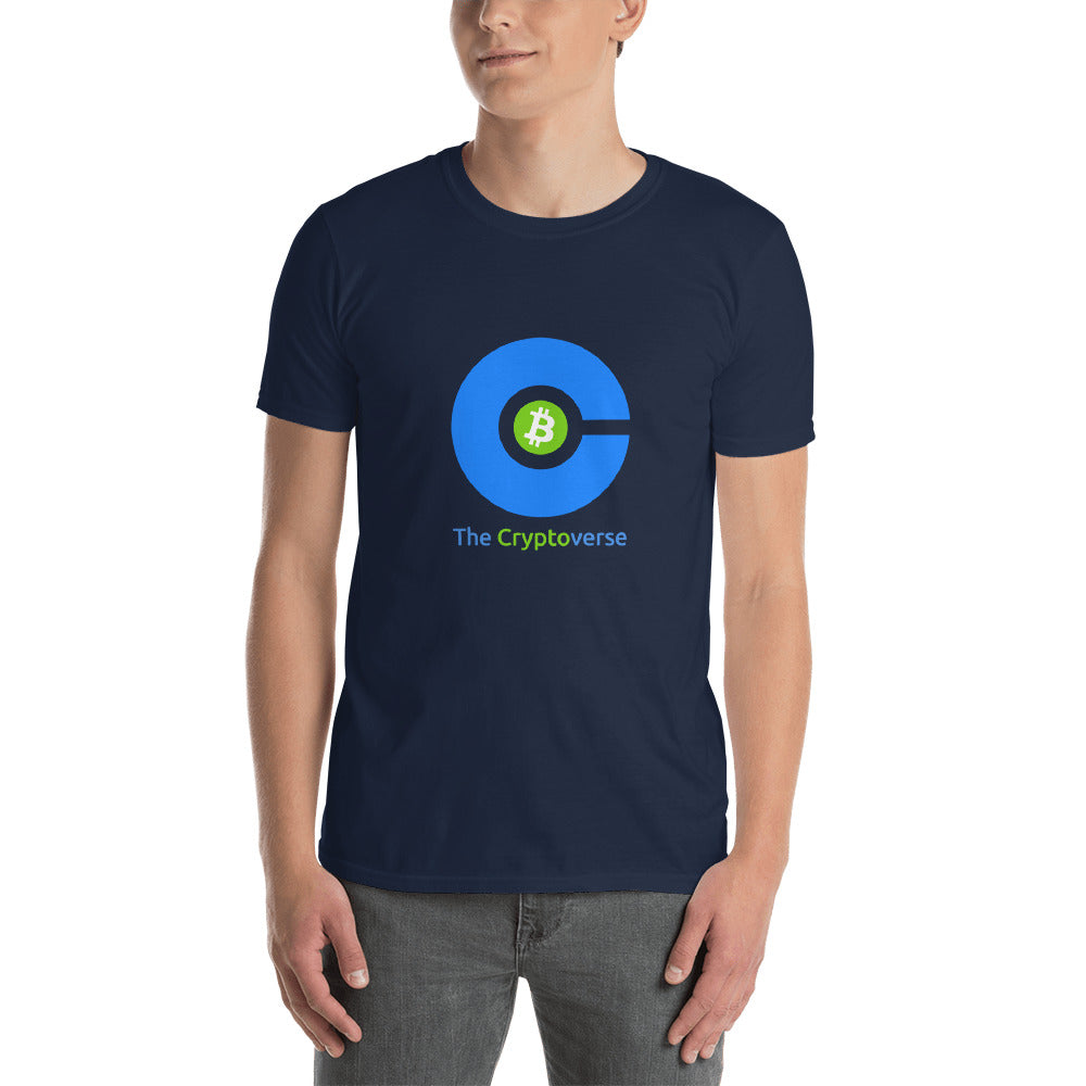 The Cryptoverse Bitcoin Short-Sleeve Unisex T-Shirt