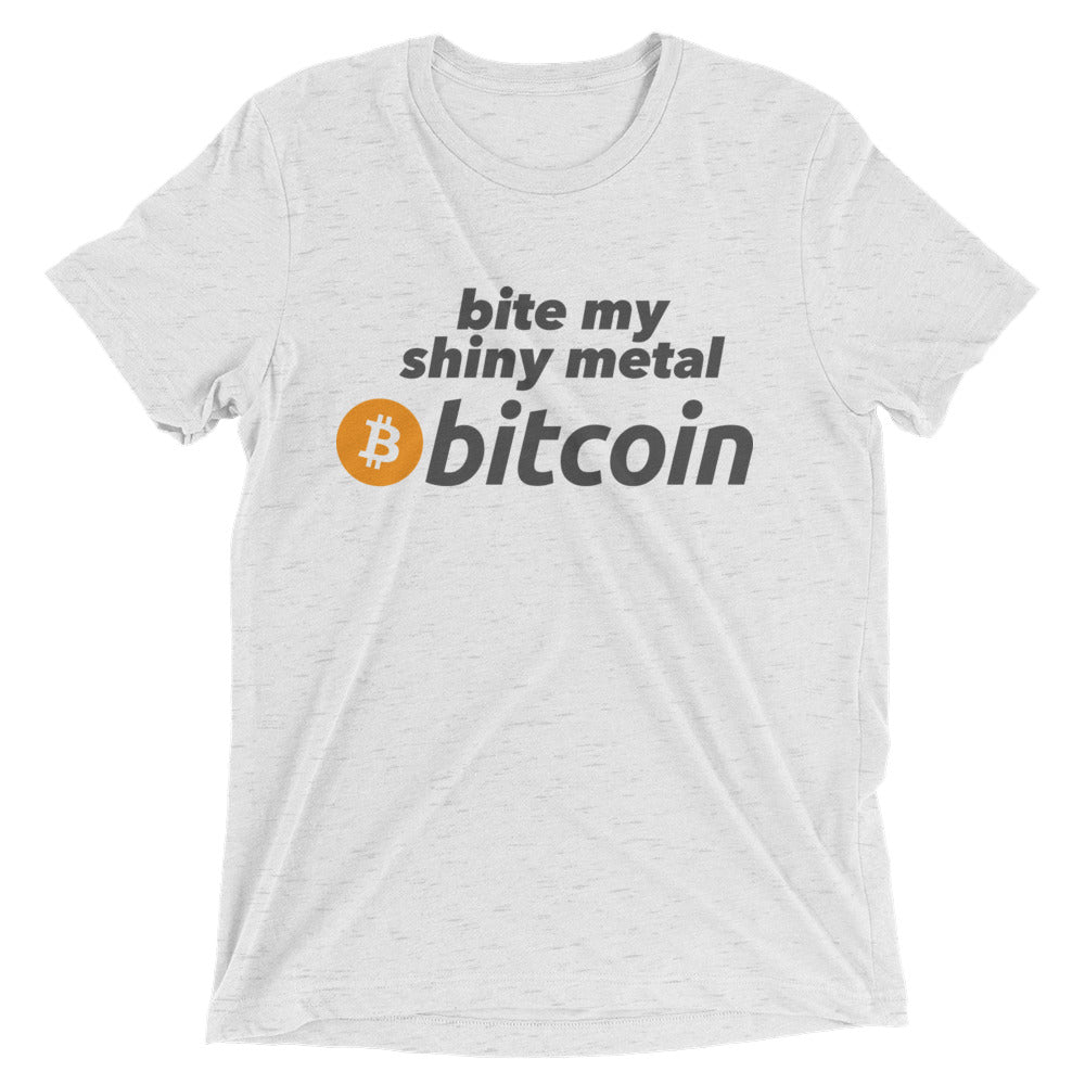 Bite My Bitcoin Short sleeve t-shirt