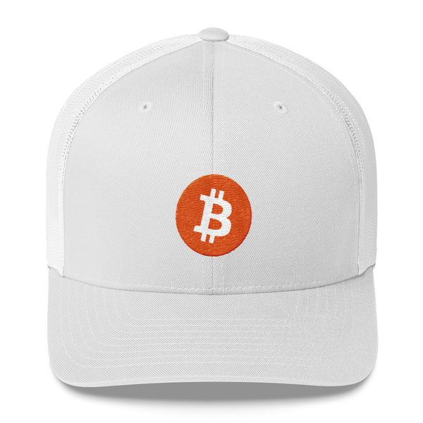 Bitcoin Trucker Cap