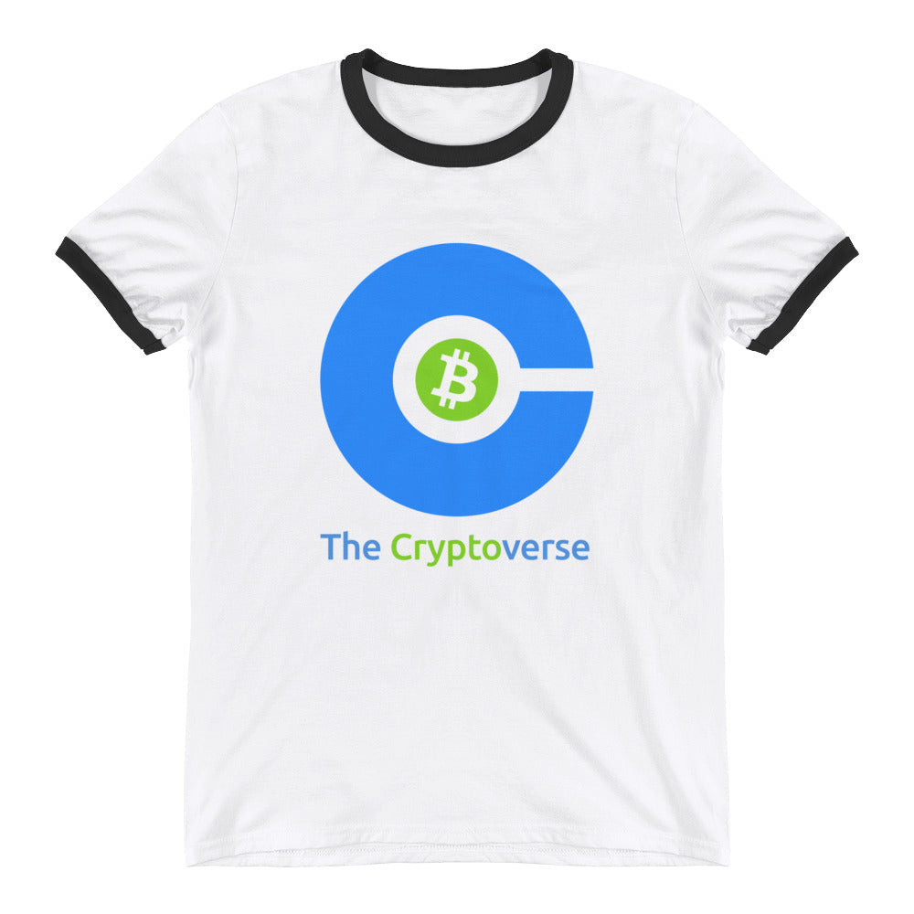 The Cryptoverse Bitcoin Ringer T-Shirt