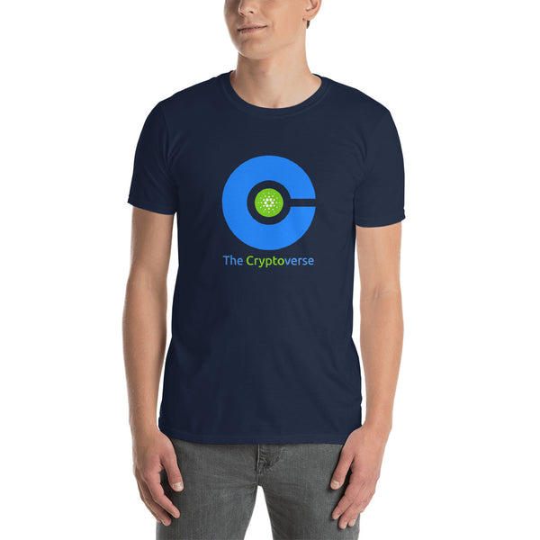 The Cryptoverse Cardano Short-Sleeve Unisex T-Shirt