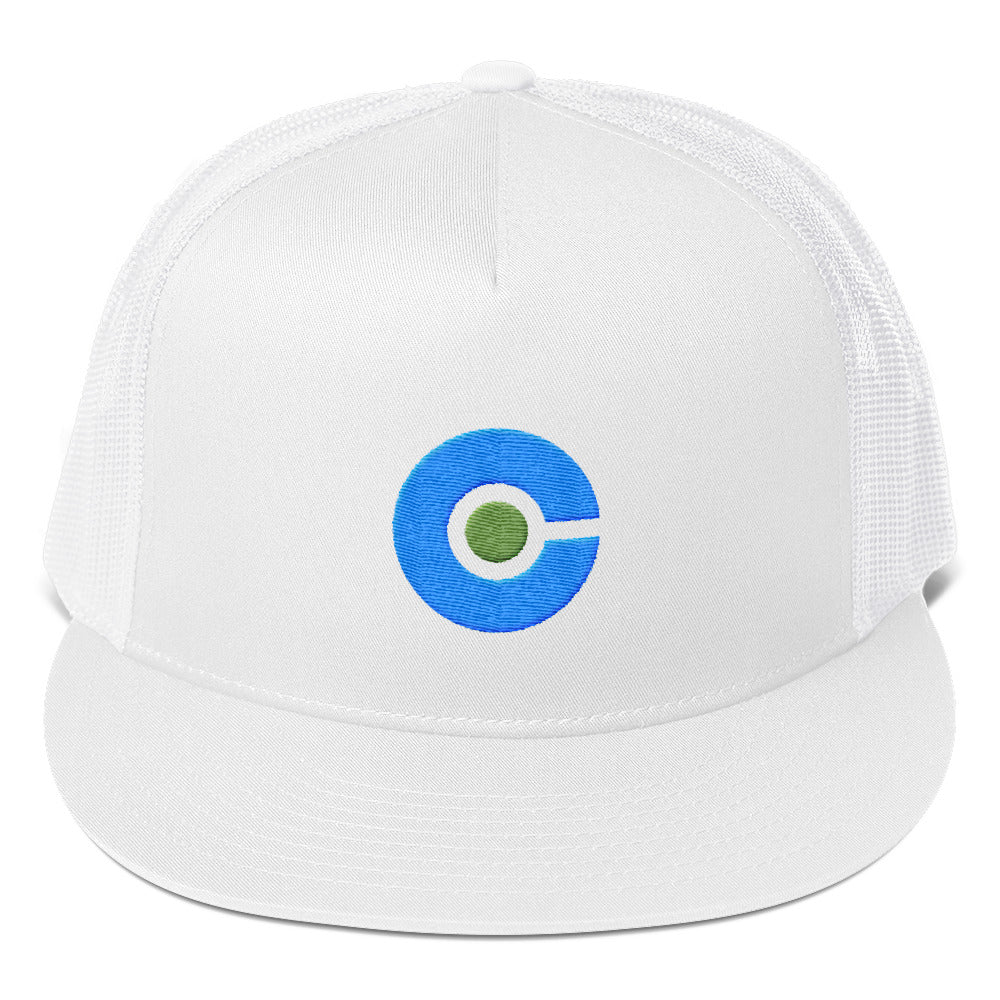 The Cryptoverse Logo Trucker Cap