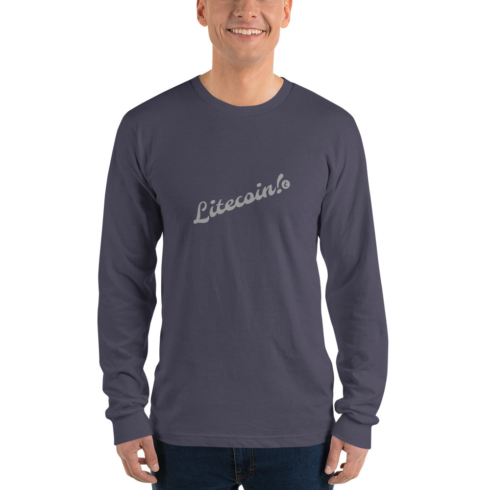 Litecoin Long sleeve t-shirt (unisex)