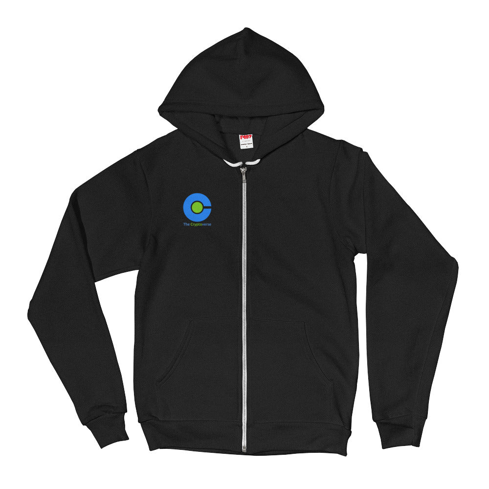 The Cryptoverse Logo Hoodie sweater
