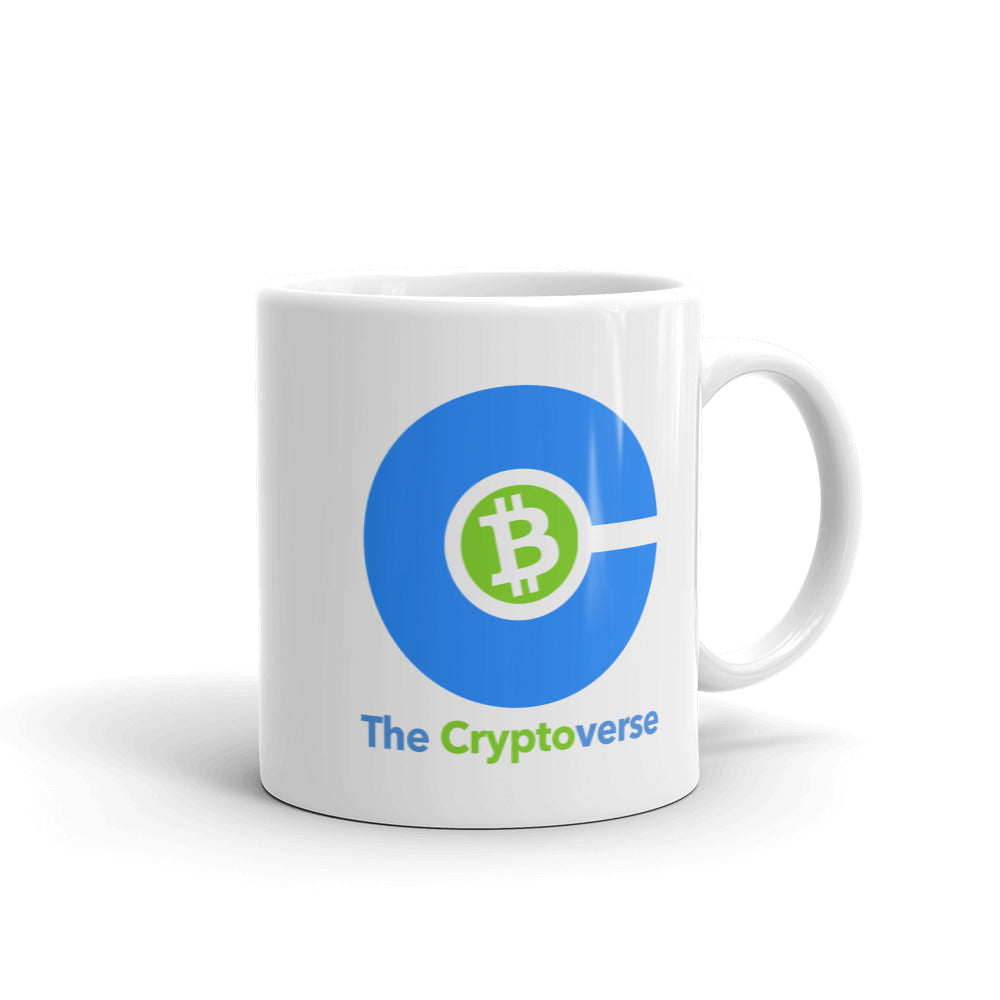 The Cryptoverse Bitcoin Mug