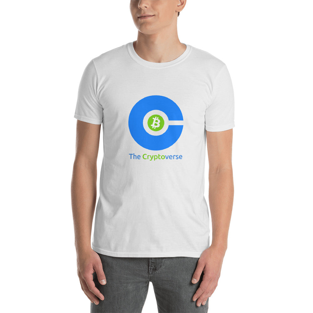 The Cryptoverse Bitcoin Whitepaper Abstract Short-Sleeve Unisex T-Shirt