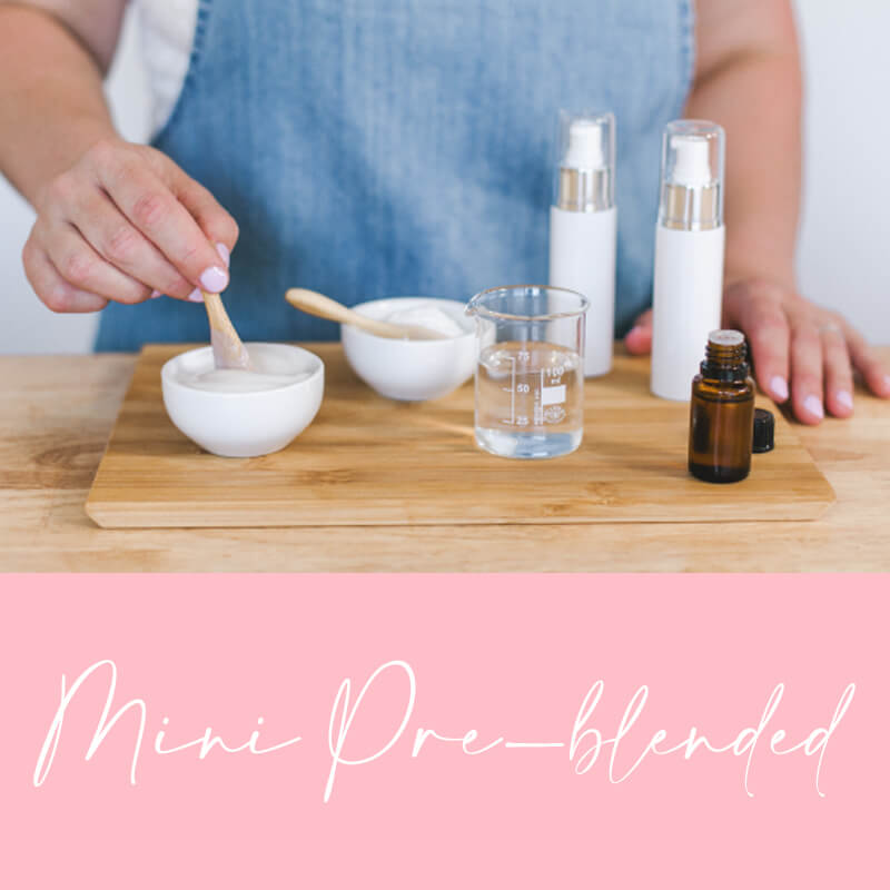 Customised Mini Pre-Blended Products