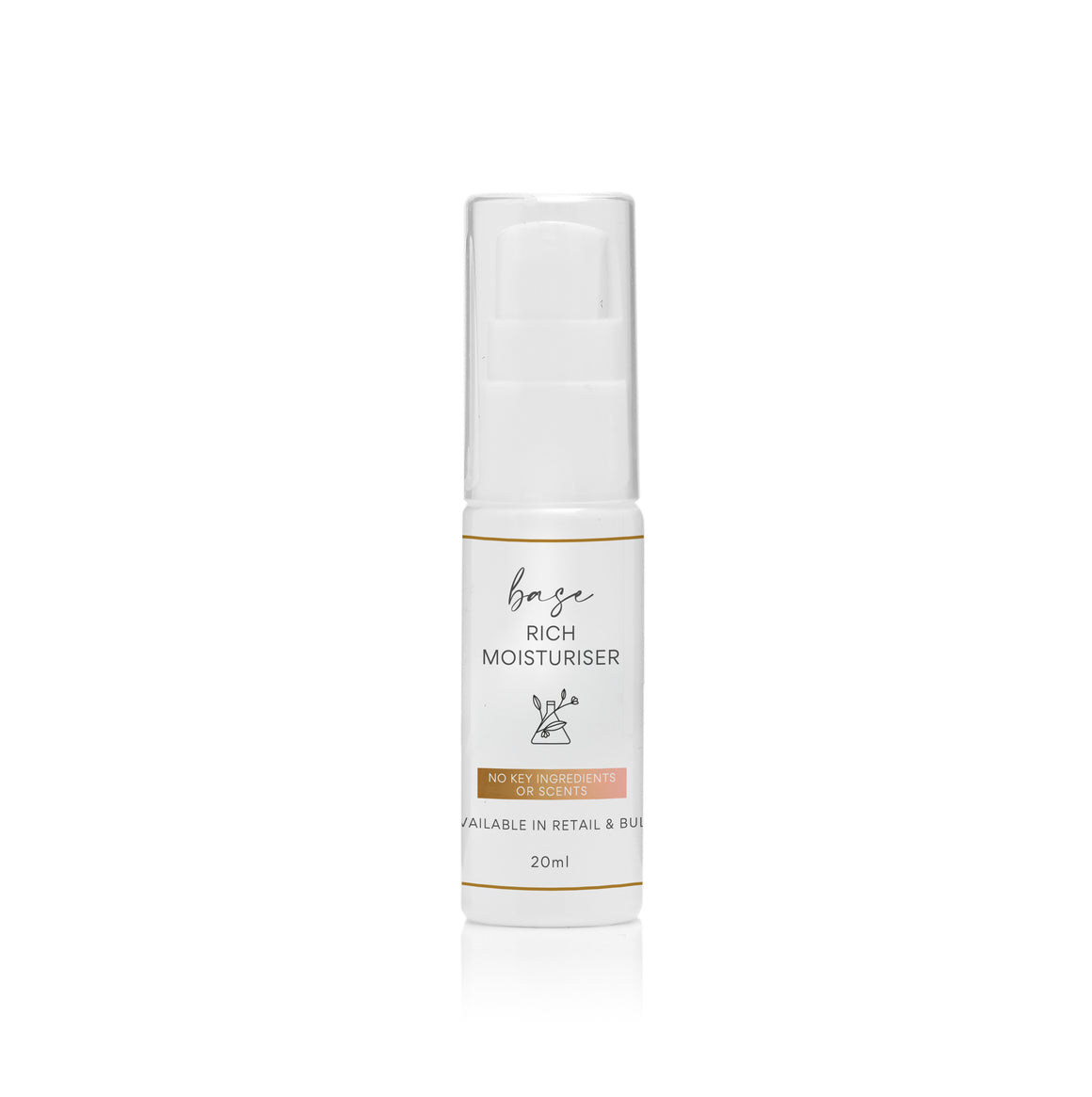 CUSTOMISED PRODUCT Rich Moisturiser - BASE ONLY - 20ml - $9.95