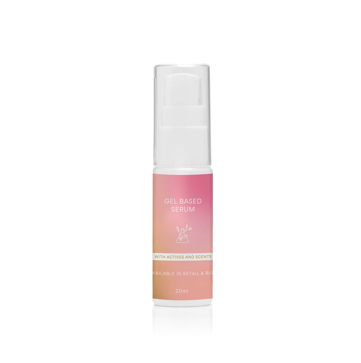 CUSTOMISED PRODUCT Gel Based Serum with Scent & Actives - 20ml - $9.95