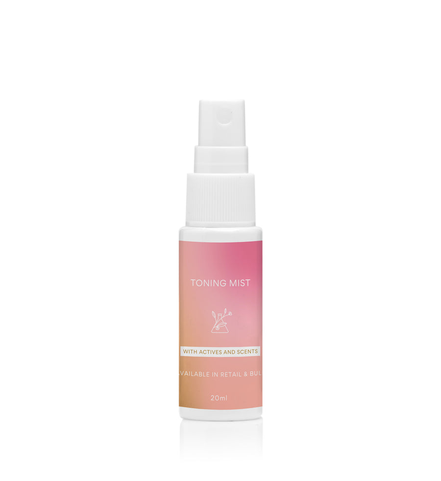 CUSTOMISED PRODUCT Toning Mist with Scent & Actives - 20ml - $9.95