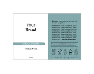 Label Template Set - Design Option 3