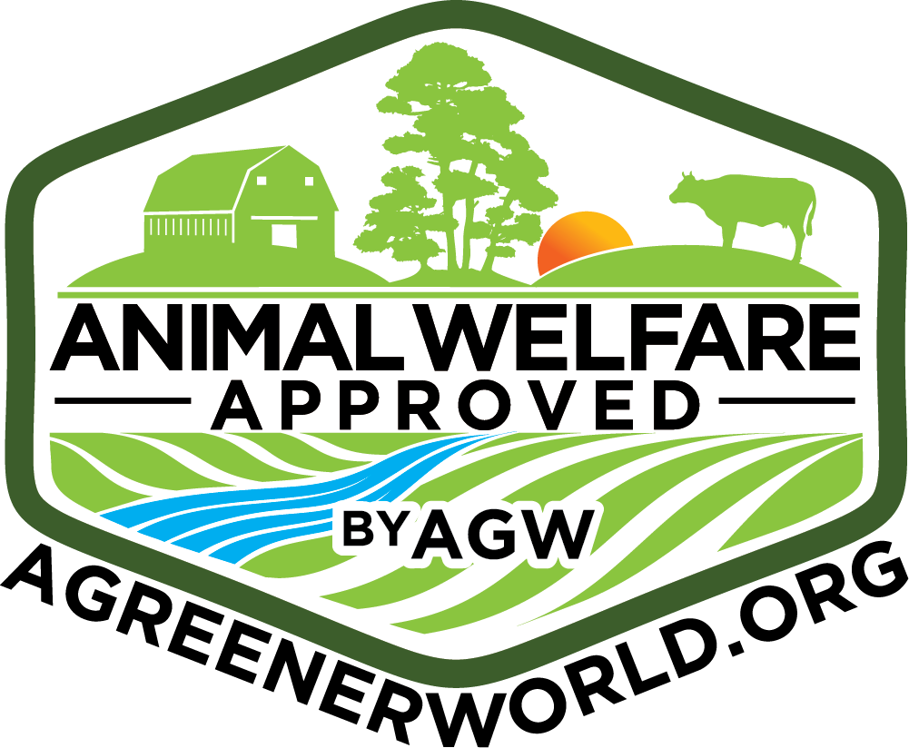 Animal Welfare Certified - A Greener world