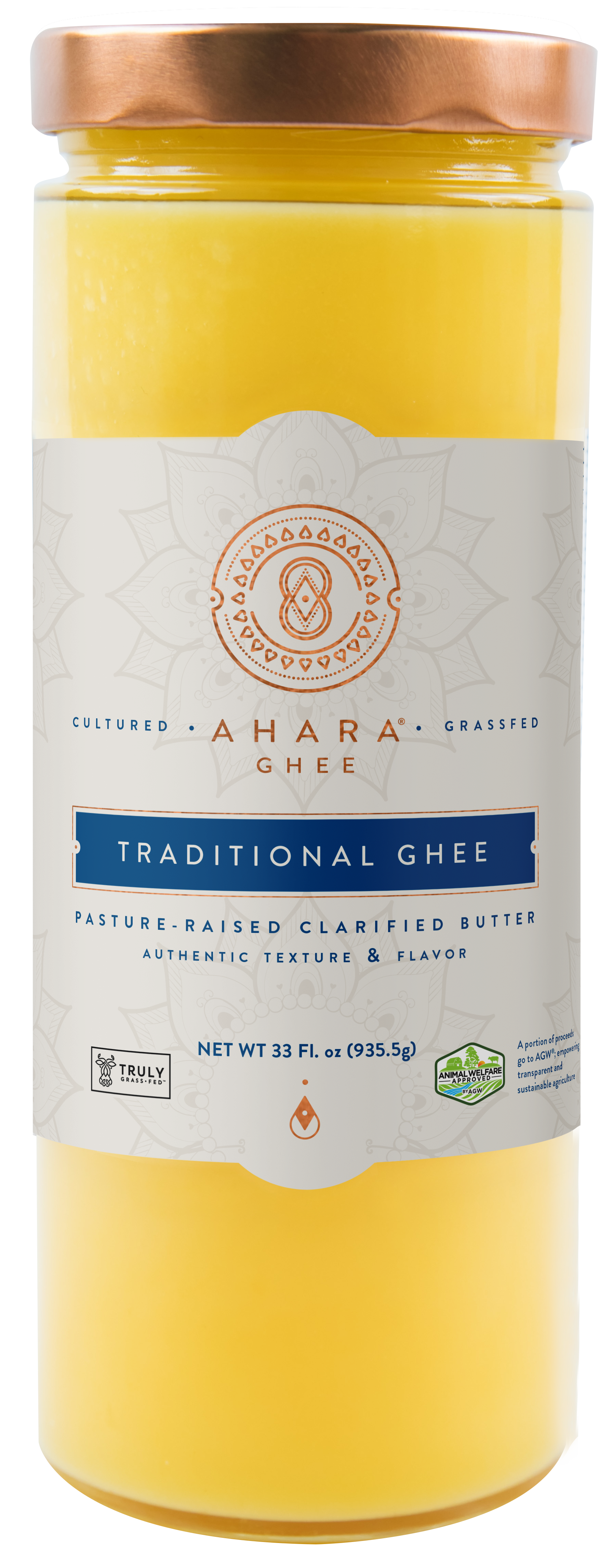 BIG Cultured Ghee DUO - MahaGhee™ and Ahara Ghee® together at last!