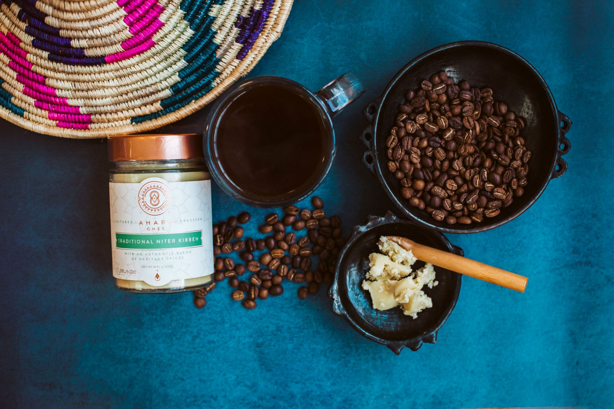 KIT: Ethiopian Niter Kibbeh Coffee Bundle