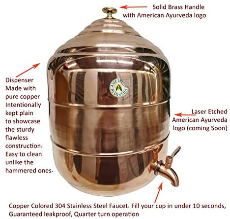 Copper Counter Top Water dispenser