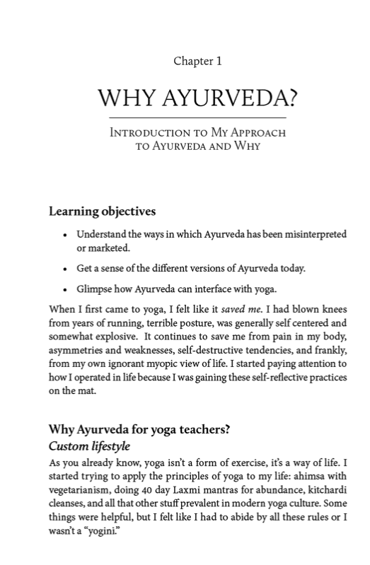 Ayurveda for teachers and Students by Dr Siva Mohan