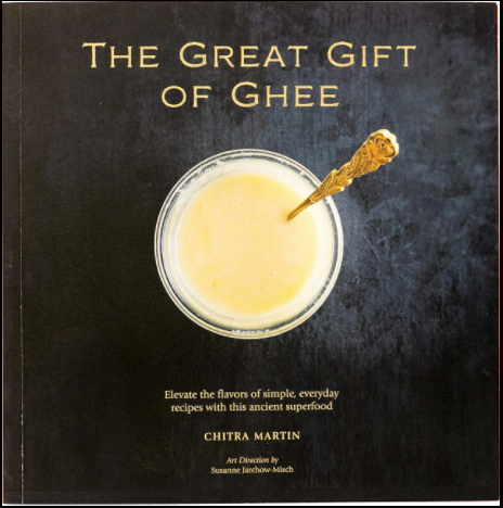 The Great Gift of Ghee Book with 32oz Jar of Mahaghee