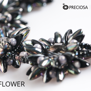 "Free Tutorial: Bracelet ""Passion Flower"""