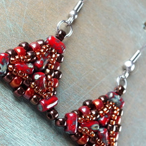 Free Tutorial: Ada Earrings
