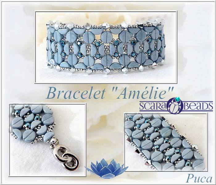 Bracelet Amelie: made of par Puca