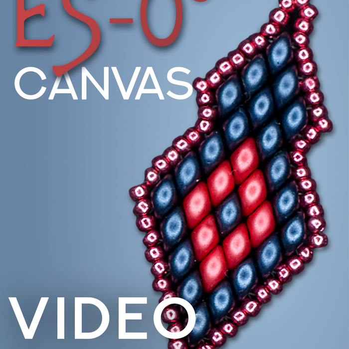 DIY: Beaded Canvas made of ES- O Beads