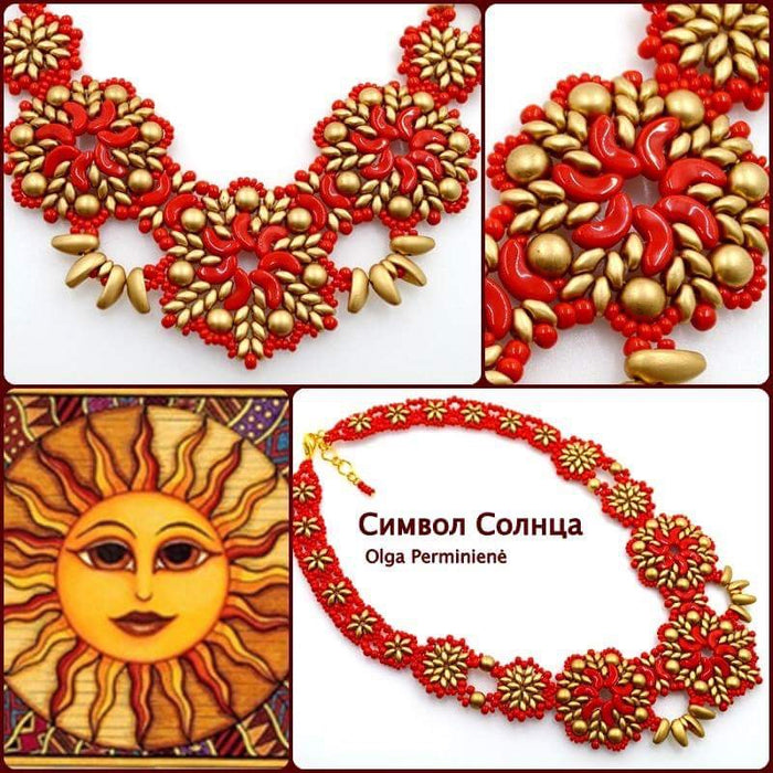 "The Necklace ""The Symbol of the Sun"""