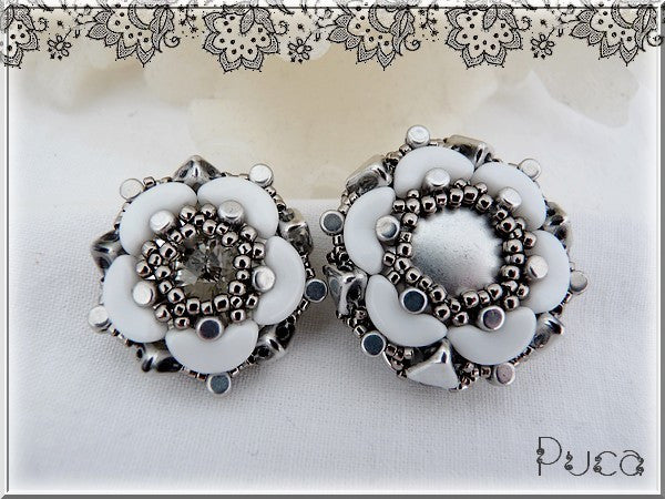 "Free Tutorial: Bague ""Joana"" by Puca"