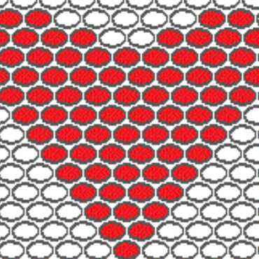 DIY: Beading for begginers: How to build a pattern for the shaped peyote stitch