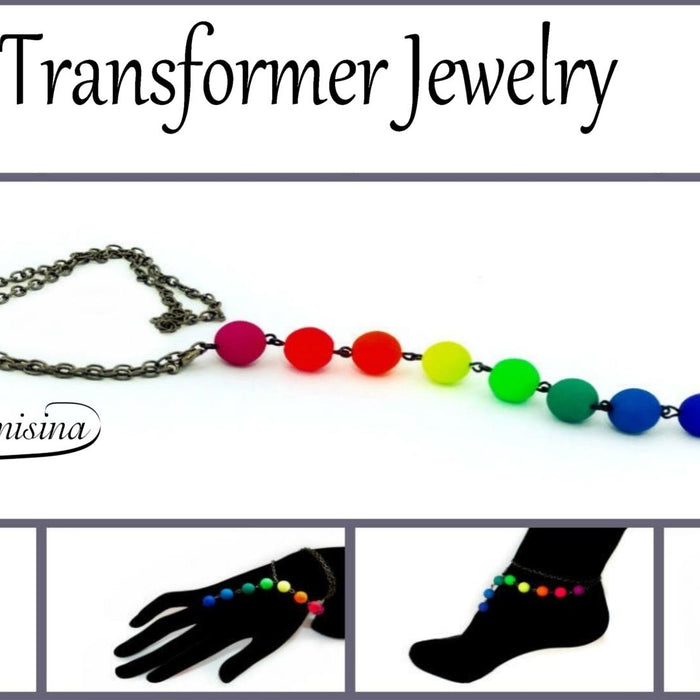 DIY: Transformer Jewelry made of Neon Beads