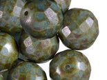 FP Faceted Beads Round 14 mm